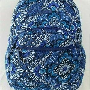 Vera Bradley blue tapestry essential backpack